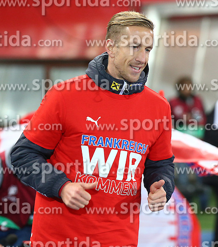 12.10.2015, Ernst Happel Stadion, Wien, AUT, UEFA Euro 2016 Qualifikation, Oesterreich vs Liechtenstein, Gruppe G, im Bild Marc Janko (AUT) // during the UEFA EURO 2016 qualifier group G between Austria and Liechtenstein at the Ernst Happel Stadion, Vienna, Austria on 2015/10/12. EXPA Pictures © 2015, PhotoCredit: EXPA/ Thomas Haumer