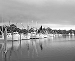 Atlantic Harbor has become a harbor of refuge for commercial fishermen. The harbor was dredged from a creek through Atlantic that still flows into the sound. The entrance to the harbor shoals up from time to time and needs to be deepened by the U.S. Army Corps of Engineers.