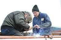 Huzumer Skûtsje renovatie 290313