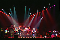 The Grateful Dead perfoming Terrapin Station at the Nassau Coliseum, Uniondale NY, 30 March 1990. Lighting 'Look' Image Capture.