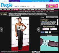 "HOLLYWOOD, CA - OCTOBER 03: Naya Rivera at Latina Magazine's ""Hollywood Hot List"" Party held at The Redbury Hotel on October 3, 2013 in Hollywood, California. (Photo by Xavier Collin/Celebrity Monitor)"