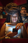 Bellmore, New York, USA. July 21, 2016. Actress Kelli Vonshay Henderson - in audience before start of the 19th Annual Long Island International Film Expo Awards Ceremony, LIIFE 2016, held at the historic Bellmore Movies. LIIFE was called one of the 25 Coolest Film Festivals in the World by MovieMaker Magazine.
