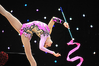 "February 8, 2014 - Tartu, Estonia - ANNA LUIZA FILIORIANU (1999 junior) from Romania performs at ""Miss Valentine 2014"" international tournament."