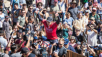 MARGARET RIVER, Western Australia/AUS (Sunday, April 9, 2017) - John John Florence (HAW) <br /> has won the Drug Aware Margaret River Pro defeating his good friend Kolohe Andino (USA) in the final.<br />  The final day of competition at the Drug Aware Margaret River Pro, Stop No. 2 of the World Surf League (WSL) Championship Tour (CT), commenced with the men&rsquo;s Quarterfinals, Semifinals and Final called ON for a 7:05 a.m. start. The remaining competitors battled it out in clean six-to-eight foot plus (2 - 2.5 metre) waves at Main Break.<br /> With John John Florence already through to the final a shark scare put the contest on hold during the second semi final between Filipe Toledo (BRA) and Kolohe Andino (USA).<br />  <br /> Photo: joliphotos.com