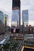 New  York, New York.September 10, 2011..Views of Ground Zero on the eve of the 10th anniversary of 9-11-2001.