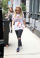 NEW YORK, NY- AUGUST 16: Rita Ora seen in New York City. August 16, 2016. Credit: RW/MediaPunch