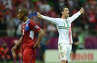 Fussball EURO 2012 Viertelfinale: Tschechien - Portugal