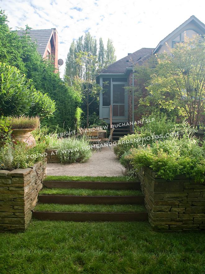 Df020210 garden grass steps for Xd garden design