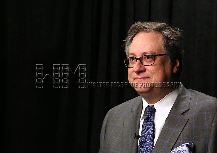 Douglas Carter Beane  'In The Spotlight' at the 2013 Tony Awards Meet The Nominees Junket  at the Millennium Broadway Hotel in New York on 5/1/2013.
