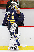 Eric Hartzell (Quinnipiac - 33), ? - The visiting Quinnipiac University Bobcats defeated the Harvard University Crimson 3-1 on Wednesday, December 8, 2010, at Bright Hockey Center in Cambridge, Massachusetts.