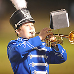 Water Valley band plays at halftime vs. Charleston in Water Valley, Miss.  on Friday, September 16, 2011.
