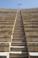 Asie/Israël/Galilée/Césarée: Ruines de Césarée - le théatre Romain  //  Asia, Israel, Galilee, Caesarea Maritima: The ruins of Caesarea Maritima , Roman theatre