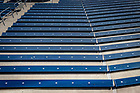 March 8, 2017; New bleachers in Notre Dame Stadium (Photo by Matt Cashore/University of Notre Dame)