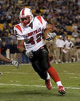 25 November 2006: Louisville Cardinals running back Anthony Allen (42)..The Louisville Cardinals defeated the Pitt Panthers 48-24 on November 25, 2006 at Heinz Field, Pittsburgh, Pennsylvania.