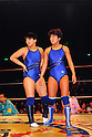 (L-R) Yumiko Hotta, Hisako Uno, MARCH 26, 1986 - Pro Wrestling : All Japan Women's Pro-Wrestling event in Japan. (Photo by Yukio Hiraku/AFLO)