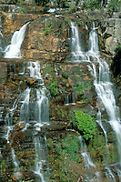 Part of waterfall Almecegas 1, Chapada dos Veadeiros, Goias, Brazil.