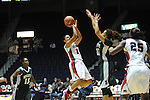 Ole Miss Lady Rebels' Diara Moore (10) vs. Mississippi Valley State's Alia Frank (22) at the C.M. &quot;Tad&quot; Smith Coliseum in Oxford, Miss. on Tuesday, November 27, 2012.