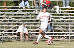 10 November 2007: NC State's Clint Pires. The Duke University Blue Devils defeated the North Carolina State University Wolfpack 2-0 at Method Road Soccer Stadium in Raleigh, North Carolina in an Atlantic Coast Conference NCAA Division I Men's Soccer game.