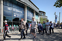 Supporters arrive at Twickenham Stadium. The Clash, Aviva Premiership match, between Bath Rugby and Leicester Tigers on April 8, 2017 at Twickenham Stadium in London, England. Photo by: Rogan Thomson / JMP for Onside Images