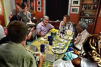 (110615RREI5093) Perfect Girls conversation dinner. Washington DC June 15, 2011 © Rick Reinhard 2011