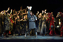 London, UK. 01.04.2014. The Kolobov Novaya Opera presents PRINCE IGOR at the London Coliseum. Picture shows: Act II - Polovtsian Camp with Vladmimir Igorevich (Aleksey Tatarintsev - centre). Photograph © Jane Hobson.