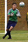 27 November 2005: . Southern Methodist University defeated the University of North Carolina at Greensboro 3-1 at UNC-G Soccer Stadium in Greensboro, North Carolina in a 2005 NCAA Men's Soccer Tournament game.