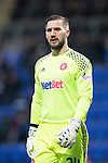 St Johnstone v Hamilton Accies&hellip;28.01.17     SPFL    McDiarmid Park<br />Accies keeper Gary Woods<br />Picture by Graeme Hart.<br />Copyright Perthshire Picture Agency<br />Tel: 01738 623350  Mobile: 07990 594431