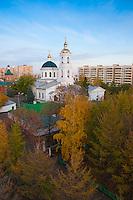 Главная провославная церковь Оренбурга - Никольская церковь