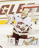 John Muse (BC - 1) - The Boston College Eagles defeated the visiting Boston University Terriers 5-2 on Saturday, December 4, 2010, at Conte Forum in Chestnut Hill, Massachusetts.