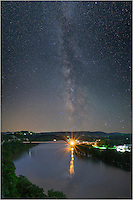 Austin produces too much light pollution to see the Milky Way, but if it did not...<br />