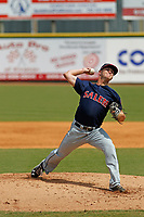 Salem Red Sox pitcher Travis Lakins (3) on the mound during a game against the Down East Wood Ducks  at Grainer Stadium on April 16, 2017 in Kinston, North Carolina. Salem defeated Down East 9-2. (Robert Gurganus/Four Seam Images)
