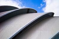 Scottish Exhibition and Conference Centre, SECC  - the armadillo -  Glasgow 2014 Commonwealth Games venue, Scotland, UK