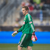 Zac MacMath.  The Philadelphia Union defeated the New England Revolution, 1-0, at PPL Park in Chester, PA.