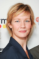 LONDON, UK. October 9, 2016: Sandra Huller at the Face to Face with German Films photocall as part of the London Film Festival 2016, Mayfair Hotel, London.<br /> Picture: Steve Vas/Featureflash/SilverHub 0208 004 5359/ 07711 972644 Editors@silverhubmedia.com