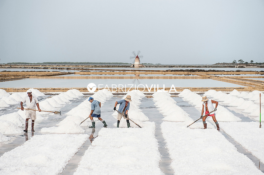 Saline di Marsala - La via del Sale