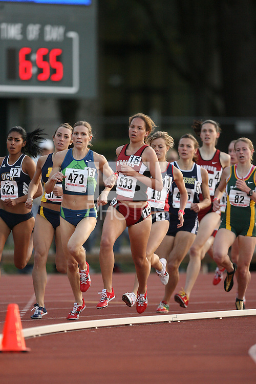31 March 2007: Lauren Centrowitz during the 33rd annual Stanford Invitational at the Cobb Track and Angell Field in Stanford, CA.