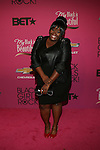 """Ty-Licia Hooker Attends """"BLACK GIRLS ROCK!"""" Honoring legendary singer Patti Labelle (Living Legend Award), hip-hop pioneer Queen Latifah (Rock Star Award), esteemed writer and producer Mara Brock Akil (Shot Caller Award), tennis icon and entrepreneur Venus Williams (Star Power Award celebrated by Chevy), community organizer Ameena Matthews (Community Activist Award), ground-breaking ballet dancer Misty Copeland (Young, Gifted & Black Award), and children's rights activist Marian Wright Edelman (Social Humanitarian Award) Hosted By Tracee Ellis Ross and Regina King Held at NJ PAC, NJ"""
