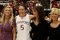 STANFORD, CA - FEBRUARY 20:  Michelle Harrison of the Stanford Cardinal during Stanford's 82-48 win over Oregon State on February 20, 2010 at Maples Pavilion in Stanford, California.