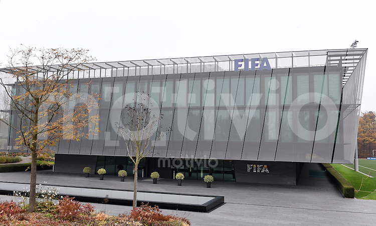 Fussball International  27.10.2015 Aussenansicht des Home of FIFA in Zuerich