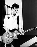 The Clash 1979 Mick Jones.© Chris Walter.