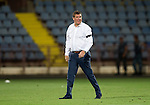Alashkert FC v St Johnstone...02.07.15   Republican Stadium, Yerevan, Armenia....UEFA Europa League Qualifier.<br /> Manager Tommy Wright a full time<br /> Picture by Graeme Hart.<br /> Copyright Perthshire Picture Agency<br /> Tel: 01738 623350  Mobile: 07990 594431