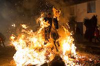 Spanish  traditional religious festival Luminarias