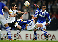 Fussball Uefa Europa League 2011/12: FC Schalke 04 - FC Viktoria Pilsen