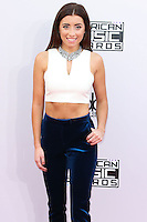 LOS ANGELES, CA, USA - NOVEMBER 23: Lauren Elizabeth arrives at the 2014 American Music Awards held at Nokia Theatre L.A. Live on November 23, 2014 in Los Angeles, California, United States. (Photo by Xavier Collin/Celebrity Monitor)