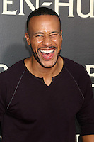 """HOLLYWOOD, CA - AUGUST 16: DeVon Franklin at the LA Premiere of the Paramount Pictures and Metro-Goldwyn-Mayer Pictures title """"Ben-Hur"""", at the TCL Chinese Theatre IMAX on August 16, 2016 in Hollywood, California. Credit: David Edwards/MediaPunch"""