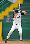 2 May 2008: University of Vermont Catamounts' first baseman Kyle Henry, a Senior from Brattleboro, VT, in action against the Binghamton University Bearcats at Historic Centennial Field in Burlington, Vermont. The Catamounts defeated the Bearcats 6-2 in the first game of their weekend series...Mandatory Photo Credit: Ed Wolfstein Photo