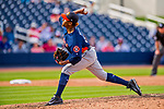 28 February 2017: Houston Astros pitcher Edison Frias on the mound during the Spring Training inaugural game against the Washington Nationals at the Ballpark of the Palm Beaches in West Palm Beach, Florida. The Nationals defeated the Astros 4-3 in Grapefruit League play. Mandatory Credit: Ed Wolfstein Photo *** RAW (NEF) Image File Available ***