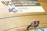 Picture by Alex Whitehead/SWpix.com - 02/03/2017 - Cycling - UCI Para-cycling Track World Championships - Velo Sports Center, Los Angeles, USA - Branding