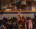 Oxford High's Justin Fondren (22) vs. North Panola in boys high school basketball in the OTown Showdown in Oxford, Miss. on Wednesday, December 28, 2011.