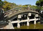 Taiko Bashi Drum Bridge, Tsurugaoka Hachimangu Shrine, Kamakura, Japan